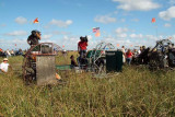 35th Anniversary of Eastern Airlines flight 401 crash memorial service - airboats at the crash site, photo #2900