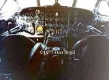 Late 1970s - cockpit of AREA Ecuador De Havilland Comet 4 HC-ALT