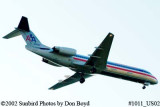 American Airlines Fokker F-100 N1452B aviation stock photo #1011