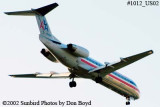 American Airlines Fokker F-100 N1452B aviation stock photo #1012