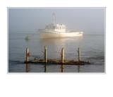 Boat Through The Fog