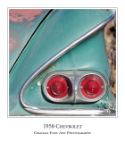 1958 Chevrolet Taillights