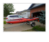 Trailer Kayak Carrier