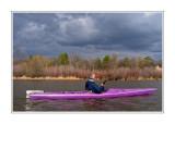 Kayaking on Wascana Lake
