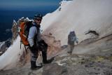 Steve Watching Geologists Sample Volcanic Gas Near Crater Rock  (KNMC070911-527-26.jpg)