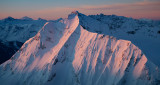 Jack Mountain's NE Face At Dawn  (JackCrater_020512_017-2.jpg)