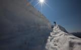 Downclimbing Through A Bergschrund On Table Mountain (TableMt_081212-41-3.jpg)