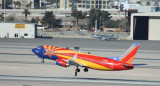 Southwest 737 in Arizona One special livery