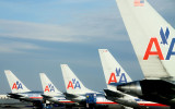 A group of AA tails at JFK