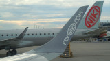 Winglets and tail of Niki E-190s
