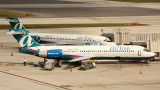 Two AirTran B-717 at their gates in FLL