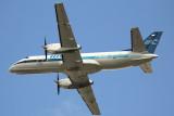 IBC Saab-340 taking off from MIA Runway 27