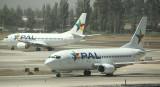 Two PAL B-737-300 at SCL