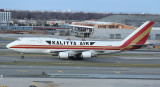Kalitta B-744F taxi to its parking stand in JFK