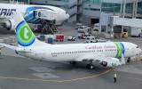 Transavia B-737-800 operating on behalf of Caribbean Airlines