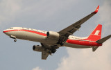 Shanghai Airlines 737-800 landing in SHA