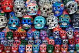 Skulls for sale at Chichen Itza Mexico