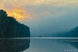 Sunrise On The Delaware River