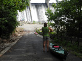 Kayaking the Scioto River in Columbus 08-07-2011