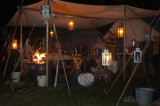 Mountain Man encampment at Lake Loramie Fall Festival