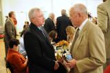 Fort Loramie coach Steve Stickley, ONU coach Phil Gordon