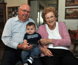 Geo and his Great Grandparents