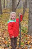 Macey's favorite walking stick