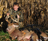 Nolan's first deer is a good one!!