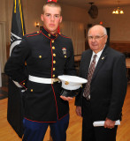 236th Birthday of the United States Marine Corps (Youngest and Oldest Marines in Attendance)