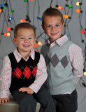 Paeltz Boys Christmas Photo