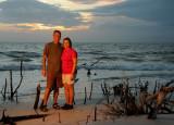 Sunset on Ft. Myers Beach