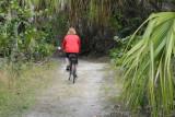 Biking on Lovers Key