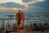 First evening on Ft Myers Beach
