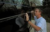 Pinstriping the new van