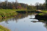 Mallards over Loramie Creek