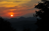 Sunrise from the Foothills Parkway