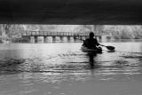 Kayaking on Lake Loramie (under the bridge near the Spillway)