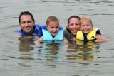 Paeltz Family in Lake Norris