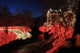 Some of Clifton Mill's 3.5 million lights