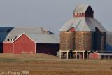 Interesting Grain Bins along Route 202