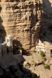 St. George monastery, Wadi Kelt - hermit cave above monastery