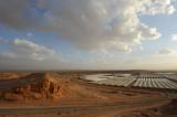 Greenhouses near moshav Hatzeva, northern Arava desert