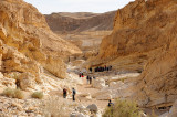 Down from the Saharonim Khan to the Parsat Nekarot trail