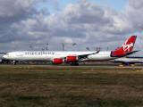 A340-600  G-VFOX