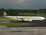 A340-500  9V-SGC