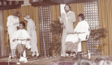 Herta Keller , Annie Humphreys and Santilli teaching in Singapour in 1975.