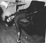 Avram, worn out after P-P-U-F-F photo shoot for Sassoons NYC, 81