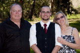 Dad, Mom and the Groom