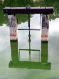 Sluice gate reflection