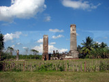 A sugar factory that was destroyed during the revolution
